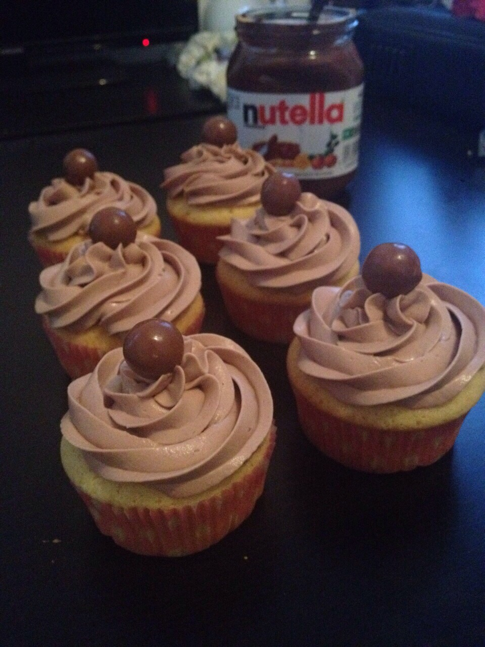 Cupcakes Au Nutella Fatisserie