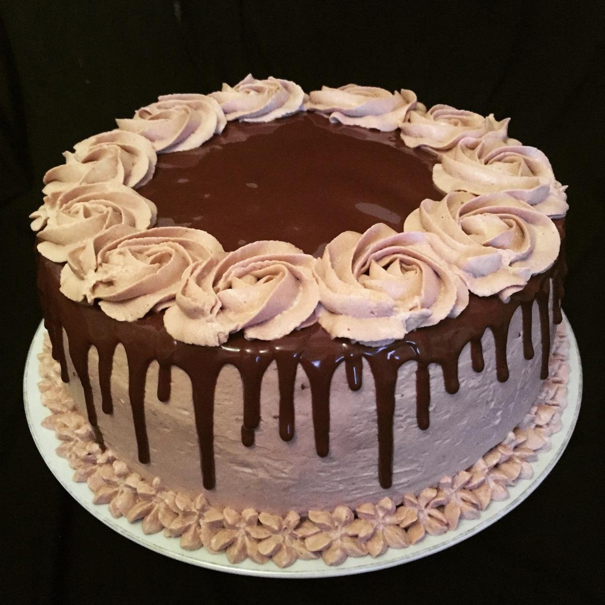 layer cake nutella fatisserie. Black Bedroom Furniture Sets. Home Design Ideas