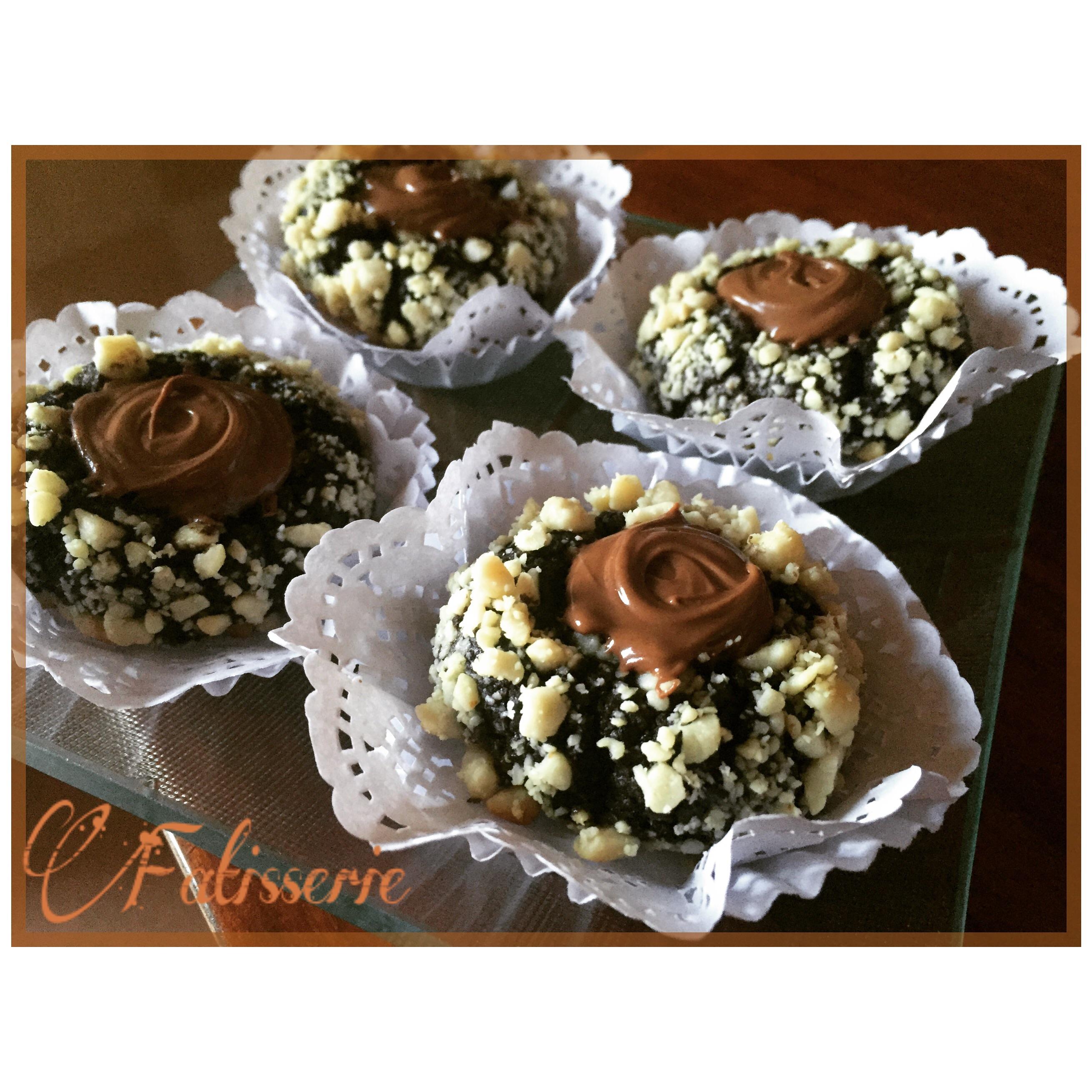 Batonnets Au Chocolat Et Aux Cacahuètes: Sablés Chocolat Cacahuètes Nutella